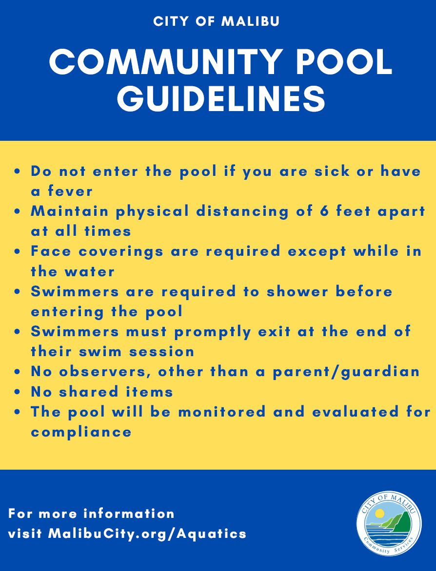 Pool Guidelines